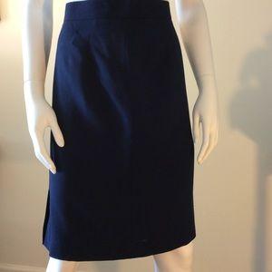 YSL classic wool skirt